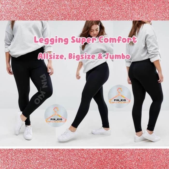 Jual Celana Wanita Celana Legging Basic Hitam Polos Leging Wanita Import Jakarta Pusat Jk Pro Fashion Tokopedia