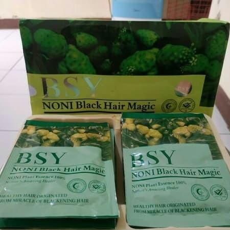 Foto Produk BSY Noni Black Hair Magic Shampo - BPOM & Halal Intenasional dari Delvino Accesories