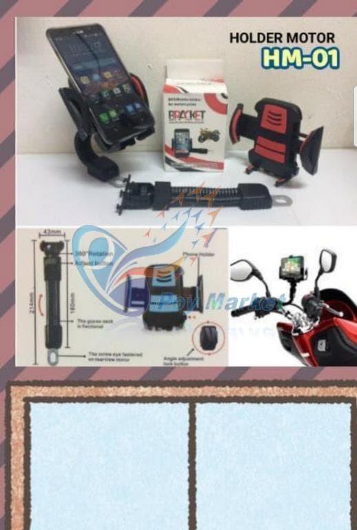 harga Holder motor / tempat hp dimotor merk hm - 01 Tokopedia.com