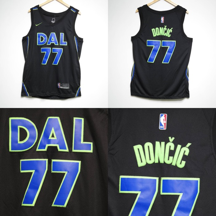 super popular c7dc0 f90bb Jual JERSEY NBA DALLAS MAVERICKS #77 LUKA DONCIC CITY EDITION HITAM - Kota  Bandung - BJS -Bandung Jersey Shop | Tokopedia