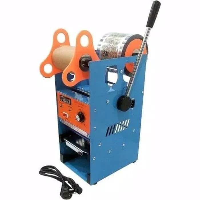 Foto Produk Mesin Gelas Teh Poci I Mesin Press Cup Sealer Eton - Gelas Press Seal dari TOKO ERWIN TANJUNG