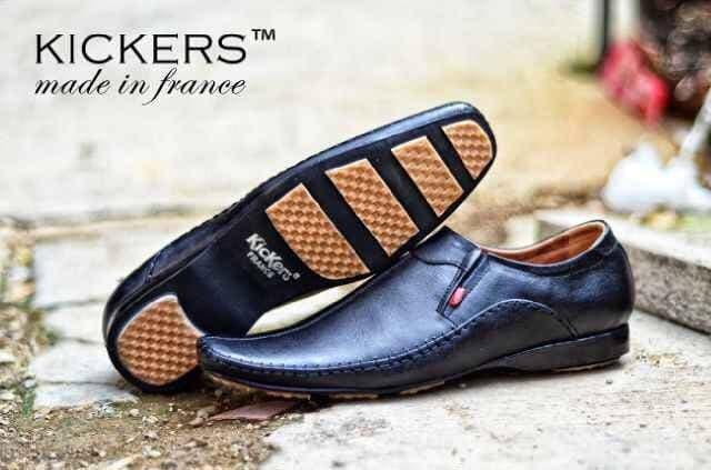 harga Sepatu pria casual kickers pantofel mocassin kulit formal kerja Tokopedia.com