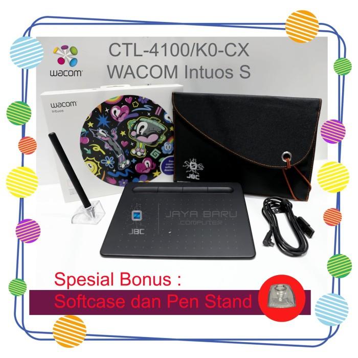 harga New wacom intuos ctl-4100 / ctl4100 spesial bonus softcase & pen stand Tokopedia.com
