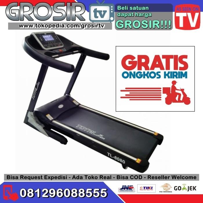 harga Gtv. treadmill elektrik tl 8080 new automatic incline (3hp) Tokopedia.com