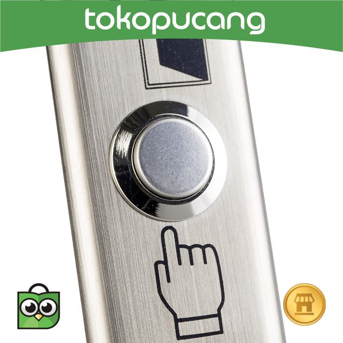 Jual Tombol Pintu Stainless Steel Exit Button Switch Panel Bel Door Kab Magelang Toko Pucang Tokopedia