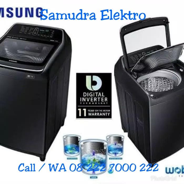 harga Promo mesin cuci samsung type wa16n6780cv kap.16 kg dual wash inverter Tokopedia.com