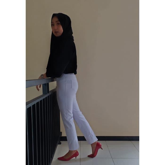 Jual Terlaris Celana Legging Jumbo Warna White Putih Size Xl High Quality Kab Temanggung Legging Bahan Tebal Tokopedia