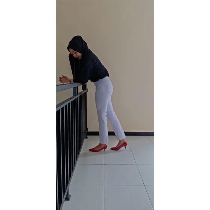 Jual Tersedia Celana Legging Polos Warna White Putih Size Xl High Quality Kab Temanggung Celana Legging Jumbo Tokopedia