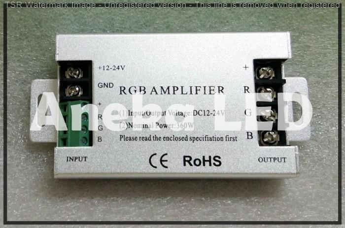 Foto Produk Penguat Daya Remote Controller RGB 360W dari Aneka LED