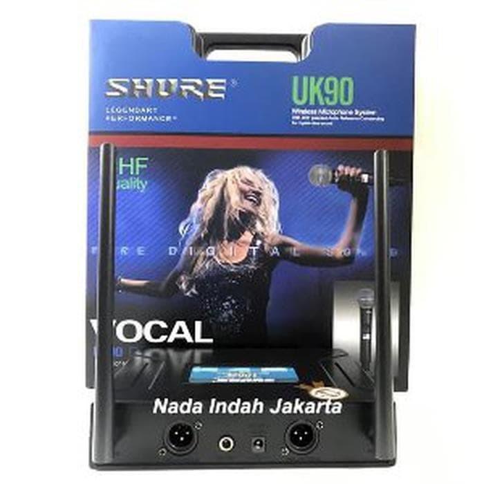 Foto Produk Microphone Wireless SHURE UK 90 - Mic tanpa kabel UK90 KOPER dari deliasow shope