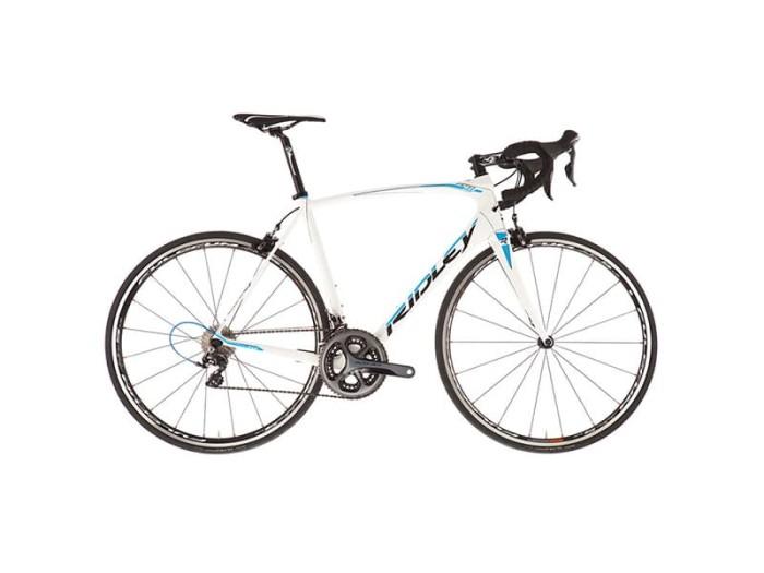 harga Ridley fenix sl fsl-01cs white blue glossy ultegra 6800 roadbike Tokopedia.com