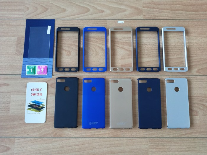 Foto Produk Protect Case 360 + Tempered Glass - Xiaomi Mi A1 / Xiaomi Mi 5X dari Golden Rabbit Acc