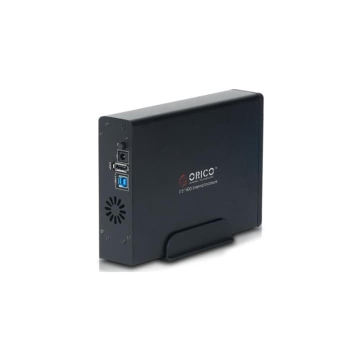 "Foto Produk Orico 7618SUS3 1Bay 3.5"" Sata + e-Sata USB 3.0 HDD Enclosure - 4TB dari Enter Komputer Official"