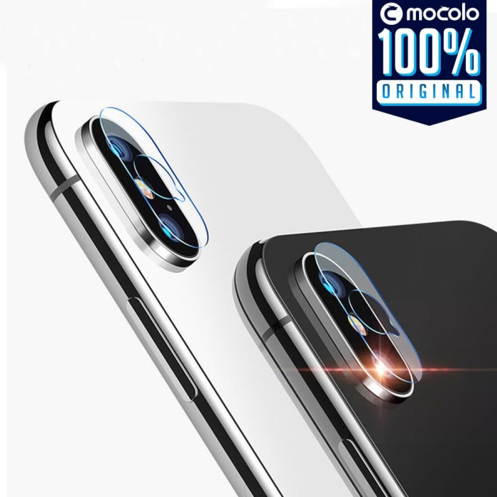 Foto Produk Tempered Glass Camera iPhone XS Max / XS X / XR Mocolo Lens Protector - Iphone XS dari Unicase Store