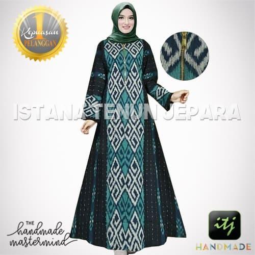 20 Trend Terbaru Model Baju Gamis Batik Tenun Maria Space