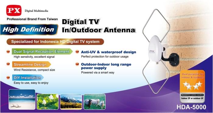 Jual Antena Tv Digital Px Hda 5000 Indoor Outdoor Jakarta Timur Elektronik Vb Tokopedia