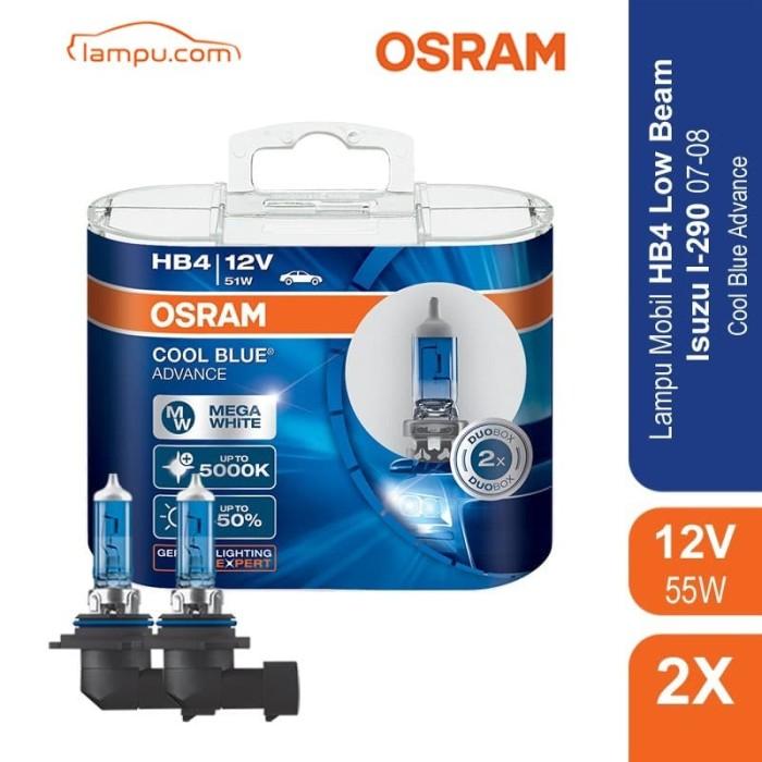 Osram lampu mobil isuzu i-290 2007-2008 low beam hb4 - 69006cba