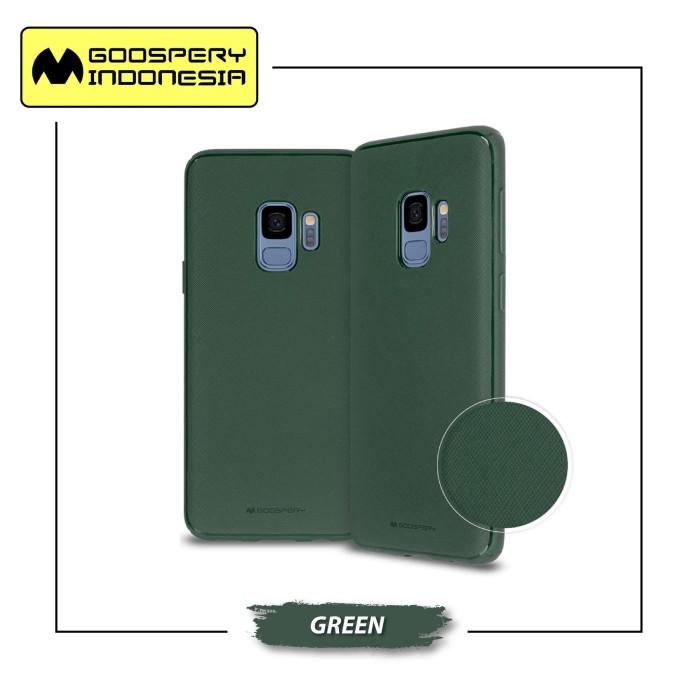 harga Goospery samsung galaxy s10e / s10 lite g970 style lux jelly case - green Tokopedia.com
