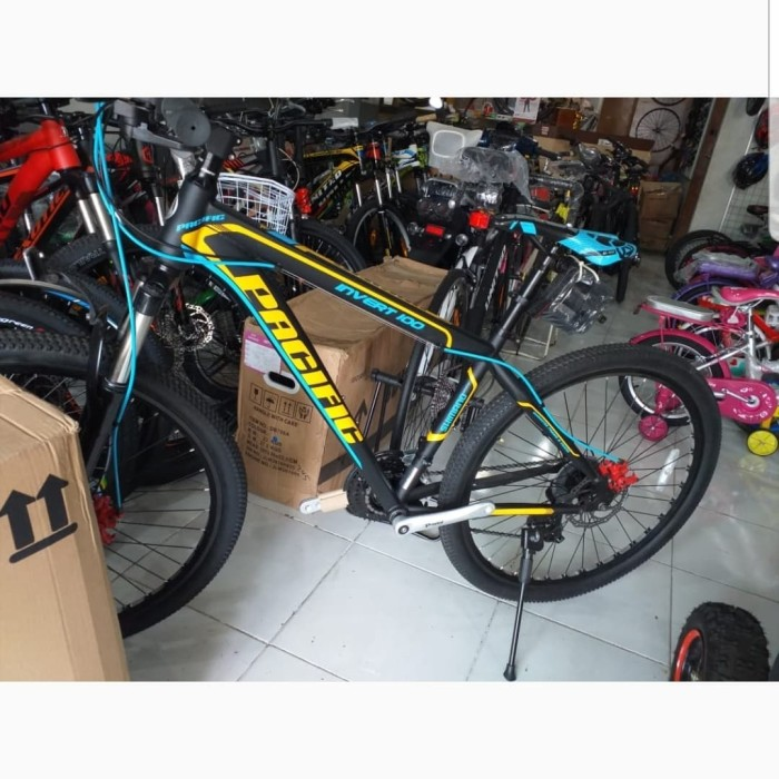 "Jual sepeda mtb 27.5"" Pacific Invert 100 Kab. Jombang"