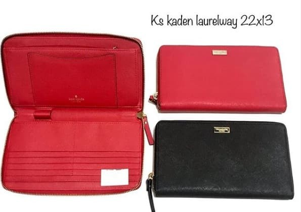 4a7428dfef9f Jual Dompet Kate Spade KS Kaden Laurel Way Travel wallet large sz 22x13cm -  Kota Surabaya - De Classy | Tokopedia