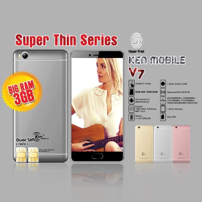 harga Ken mobile v7 3/32gb - emas Tokopedia.com