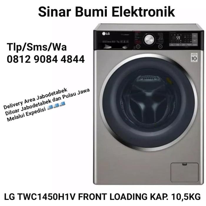 Jual LG TWC1450H1V Mesin Cuci Front Loading 10,5kg SPESIAL PROMO HARGA -  DKI Jakarta - SINARBUMI007 | Tokopedia