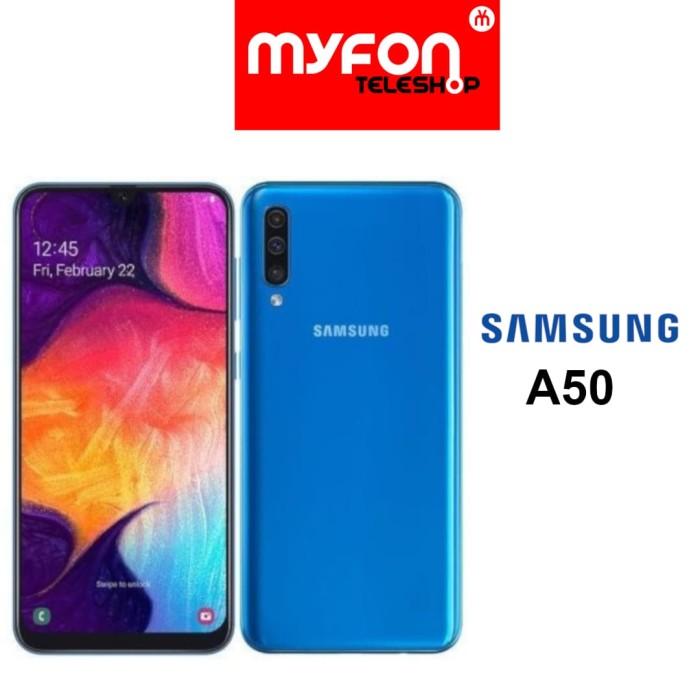 harga Samsung a50 4/64gb sein - biru Tokopedia.com