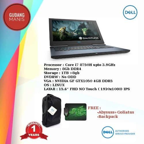 harga Dell notebook gaming g7 7588 –black (i7/8gb/1tb/gtx1050/4gb/linux) Tokopedia.com