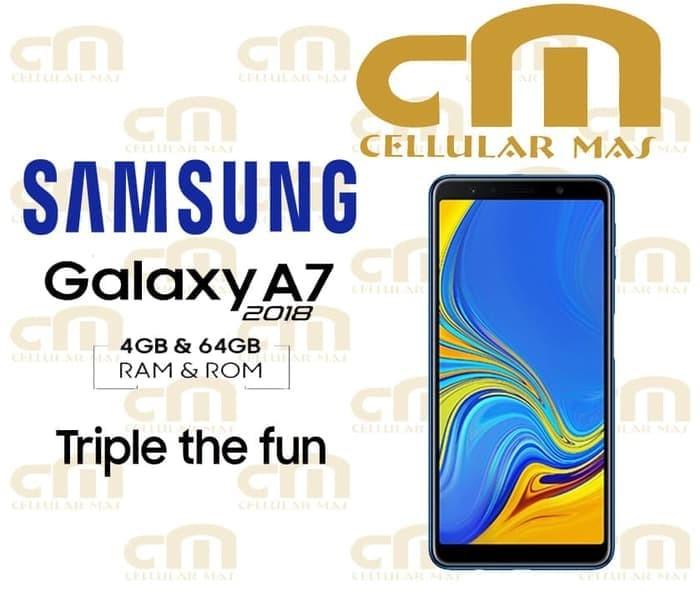 Foto Produk Samsung Galaxy A7 2018 4/64 RAM 4GB ROM 64GB GARANSI RESMI SEIN dari WULAN477