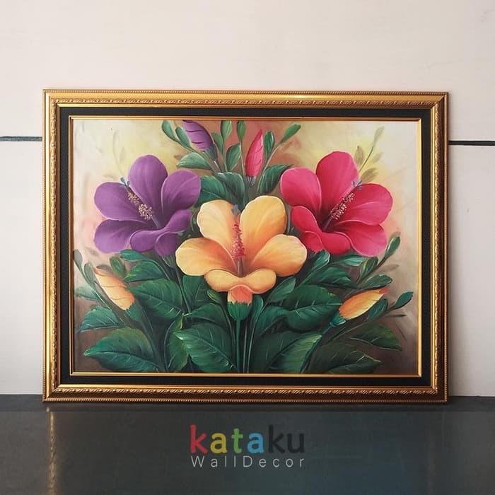 Download 44 Gambar Lukisan Bunga Tulip Di Kanvas Paling Cantik HD