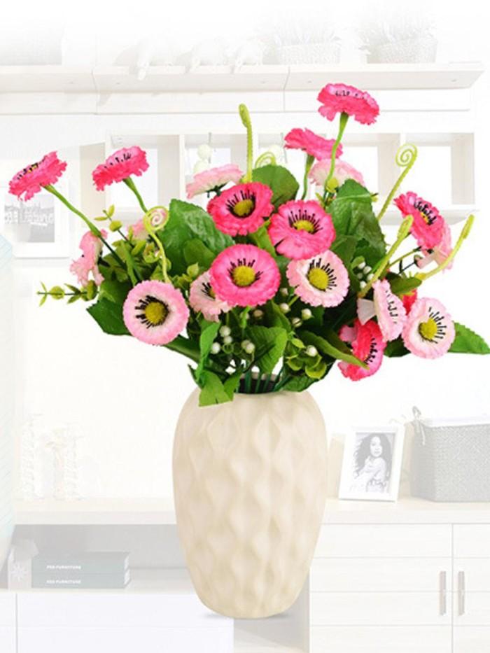 Foto Produk New Style Wheel Chrysanthemum False Flowers Silk Flower Living Room dari W brands Store