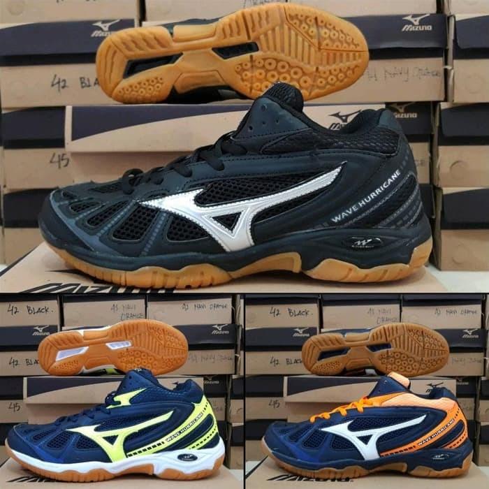 Jual Dijual Sepatu Voli Mizuno Wave Hurricane Original Olahraga