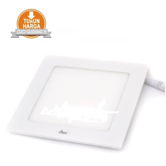 harga Hiled panel slim downlight 12w square Tokopedia.com