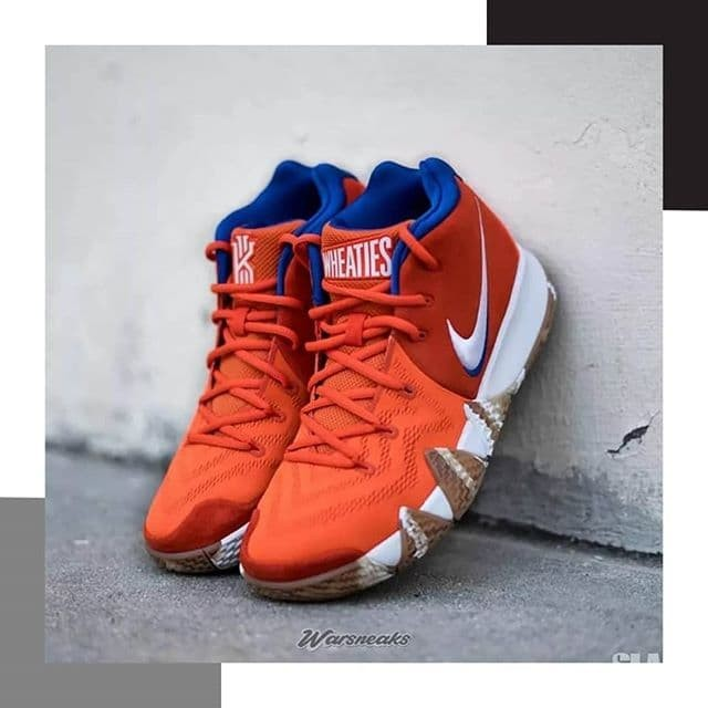factory price 538d2 36e67 Jual Sneakers Sepatu Nike Kyrie 4 Wheaties - DKI Jakarta - WAROENG SNEAKERS  | Tokopedia