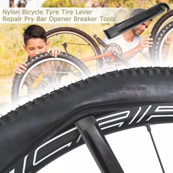 Foto Produk Pembuka Pencungkil Ban luar Sepeda mtb tyre tire lever crowbar pry dari WARUNGMAGELANGS