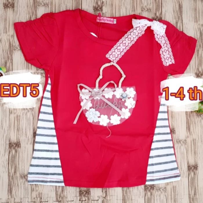 Jual Baju atasan import lucky bear cewek girl katun cotton stretch oke -  Kota Magelang - Cheer Up Baby | Tokopedia