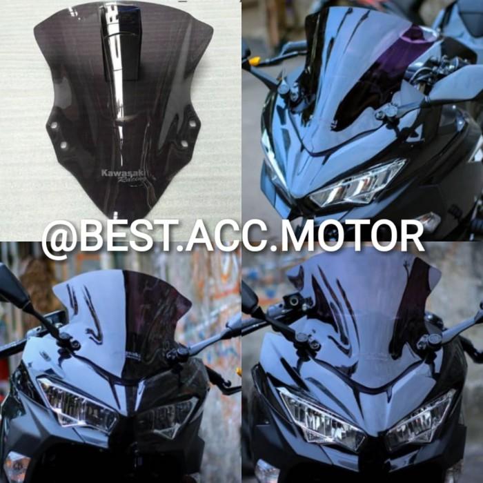 Foto Produk Windshield/ Visor Ninja 250 Fi New 2018 CLEAR & SMOKE Aksesoris Motor dari BEST ACC MOTOR