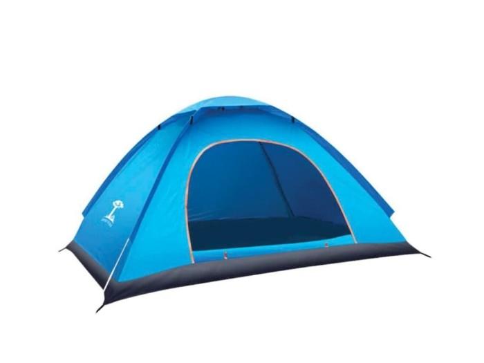 Foto Produk Tenda Camping Outdoor Pantai Dewasa Buka Otomatis 2 Meter Anti Air 001 - Orange dari lbagstore
