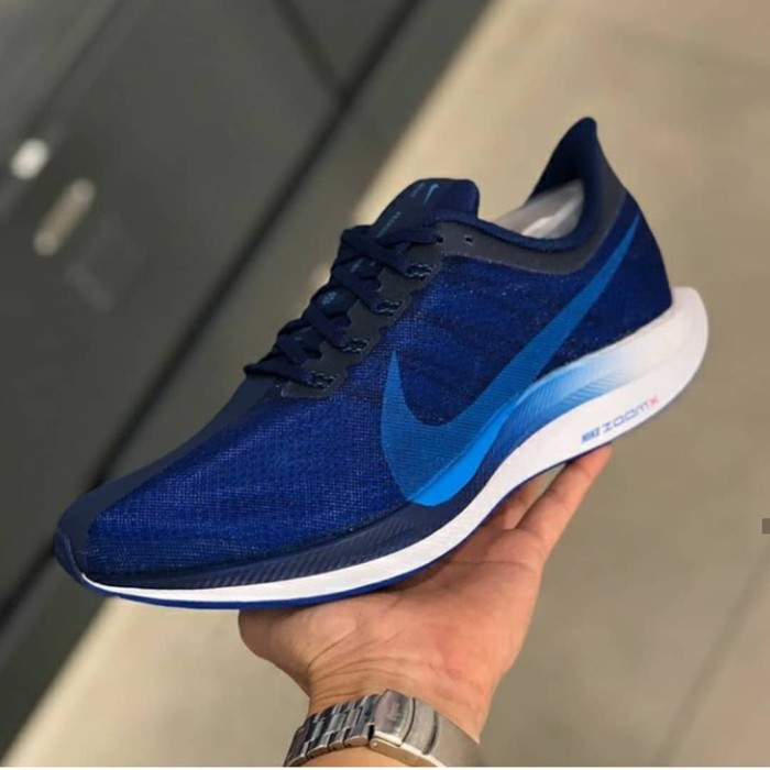 new styles cb8a9 f4b20 Jual Nike Zoom Pegasus Turbo 35 Navy White - Jakarta Selatan -  istana_sneakers | Tokopedia