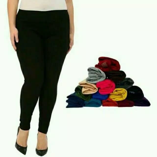 Jual Legging Polos Panjang Celana Legging Wanita Celana Dalaman Gamis Kota Bekasi Aisha Fashion Tokopedia