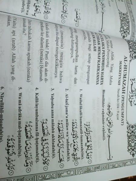 Jual Promo Al Quran Terjemah Transliterasi Arab Latin As Salamah Dki Jakarta Modernmall33 Tokopedia