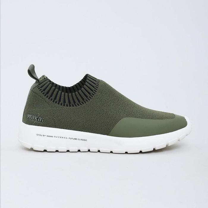 Foto Produk Wakai Gyou Olive Sepatu Sneakers dari Yuli Style