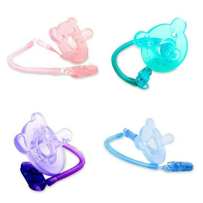 harga Empeng bayi lusty bunny full silicone bear bpa free / dot karet empeng Tokopedia.com