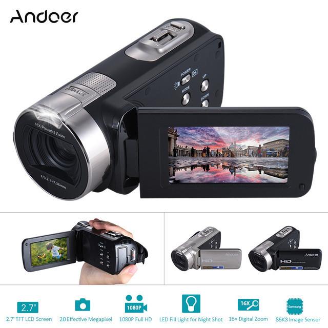 harga Handycam andoer hdv-312p 1080p full hd 20 mp 2.7 inch 16x rotating lcd Tokopedia.com