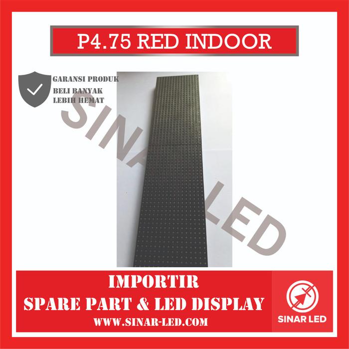 Foto Produk Modul Led P4.75 RED SMD Indoor dari sinar led