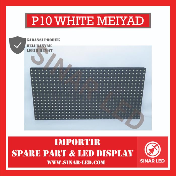 Foto Produk Module LED P10 Putih (white) Outdoor dari sinar led