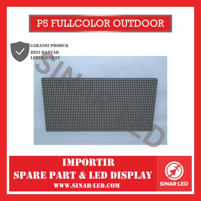 Foto Produk Module LED Panel P5 SMD Outdoor dari sinar led