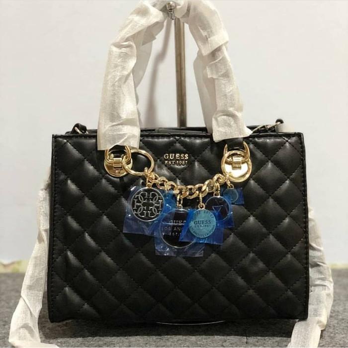 harga Tas wanita hand bag guess Tokopedia.com