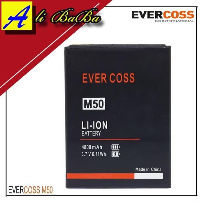 harga Baterai handphone evercoss m50 star a75b evercoss m50 dobel power Tokopedia.com