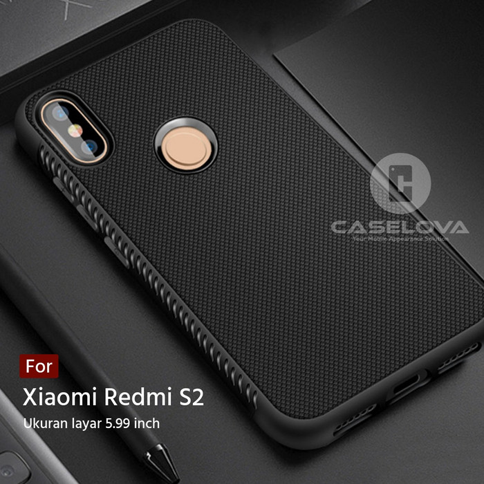Foto Produk Case For Xiaomi Redmi S2 Protection Anti Slip TPU - Hitam dari Caselova Store